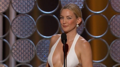 Kate Hudson Cleavage At The Nd Annual Golden Globe Awards January