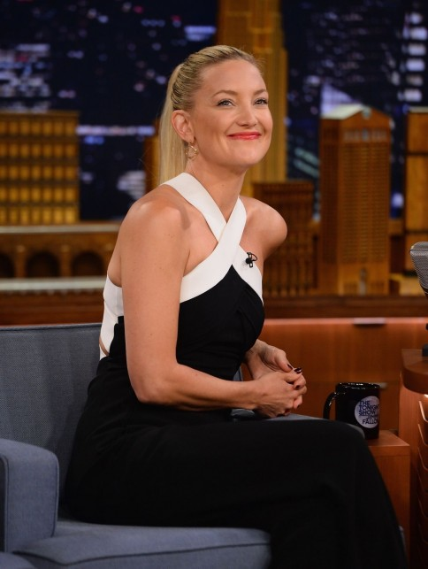 Kate Hudson Guesting At The Tonight Show Starring Jimmy Fallon