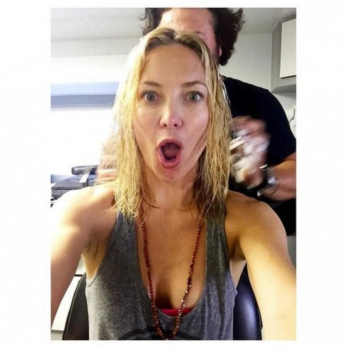 Kate Hudson Hair Transformation May Hair Cut Instagram Large