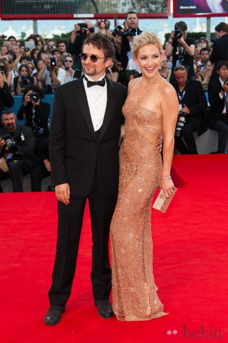 Kate Hudson Matt Bellamy Apertura Mostra Venecia Matt Bellamy