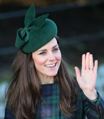Kate Middleton Chirstmas Hair Hat Main