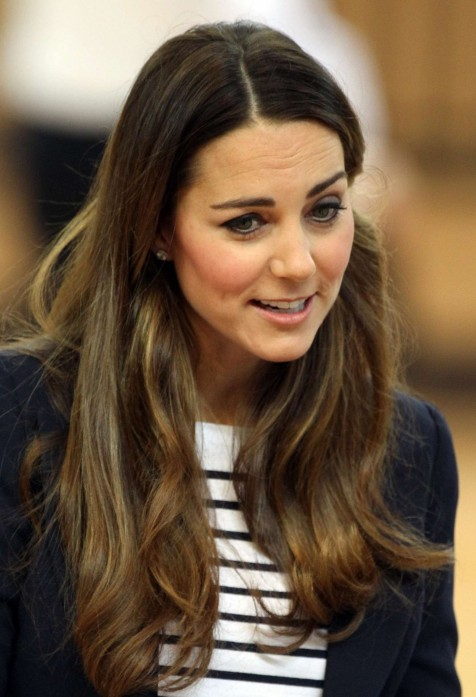 Kate Middleton Sportsaid Athlete Workshop