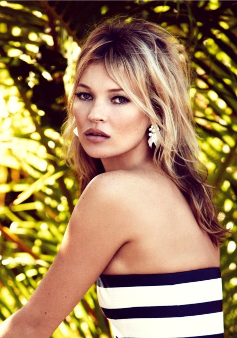 Styled Kate Moss By Patrick Demarchelier For Vogue Uk June Kate Moss