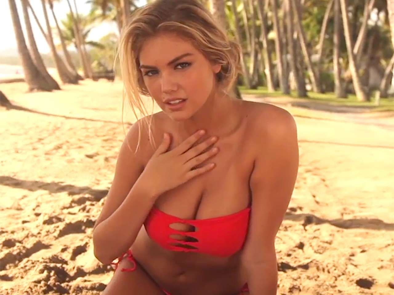 Kate Upton Sport Illustrated Photoshoot Outtakes Bikini
