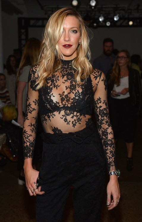 Katie Cassidy Houghton Show At Spring Ny Fashion Week Katie Cassidy