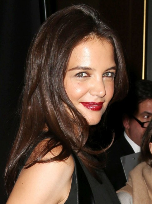 Katie Holmes Joined To The Skin Cancer Foundation Gala In New York City