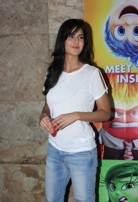 Katrina Kaif At Inside Out Movie Special Screening And Ranbir Kapoor
