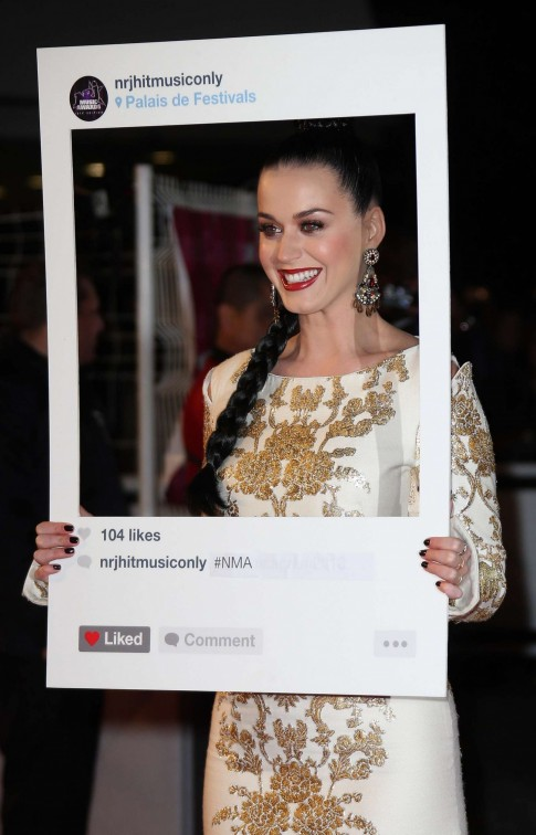 Katy Perry Nrj Music Awards Nrj
