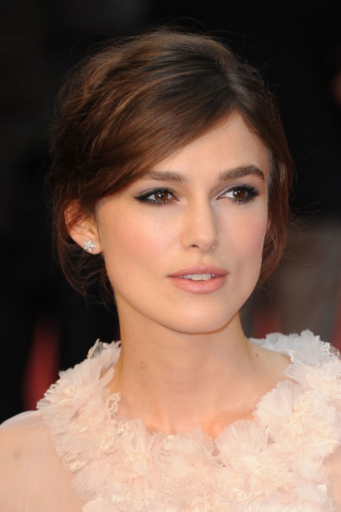 Keira Knightley At Anna Karenina Premiere In London