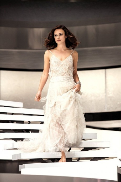 Keira Knightley For Chanel Coco Mademoiselle By Mario Testino Bts