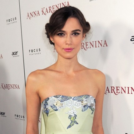 Keira Knightley Hollywood Premiere Makeup Body