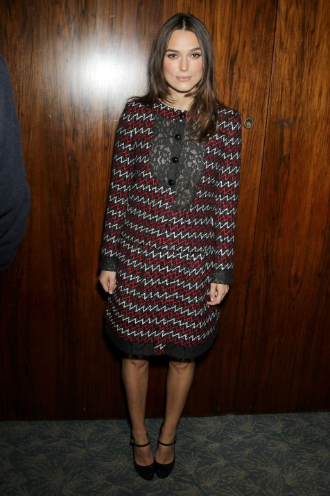 Keira Knightley Joined To Special Luncheon Celebrating The Imitation Game