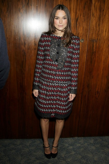 Keira Knightley Joined To Special Luncheon Celebrating The Imitation Game Fashion