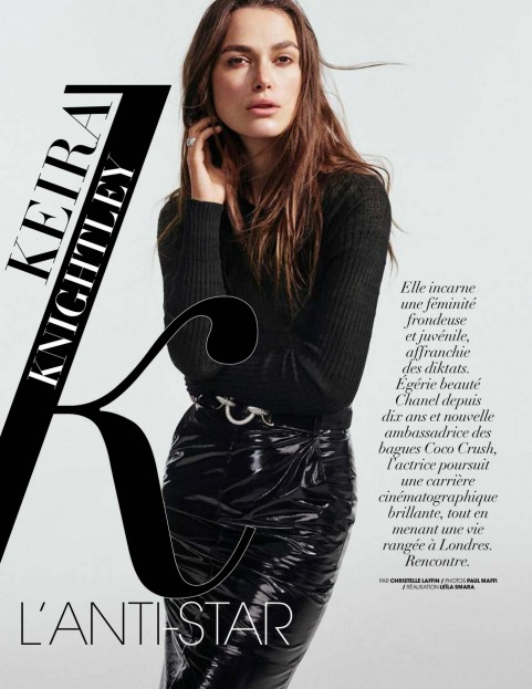 Keira Knightley Madame Figaro Magazine France July Paul Maffi Photos Keira Knightley