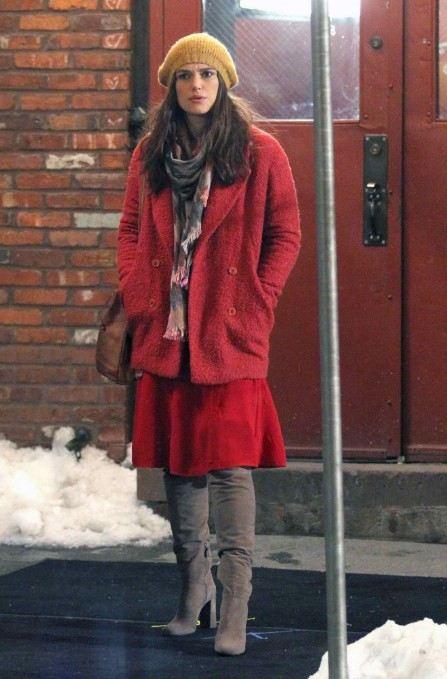 Keira Knightley On The Set Of Collateral Beauty In Nyc Keira Knightley