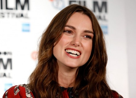 Keira Knightley Presenting At The Imitation Game Press Conference In London Husband