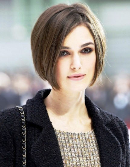 Keira Knightley Short French Bob Haircut Keira Knightley