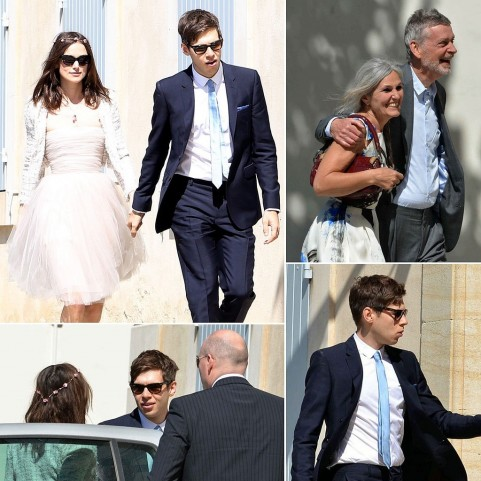 Keira Knightley Wedding Pictures Wedding