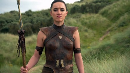 Keisha Castle Hughes Obara Sand Game Of Thrones Armour Game Of Thrones