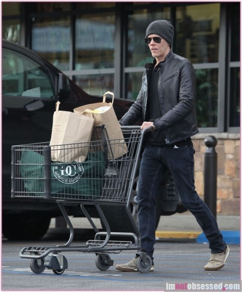 Kevin Bacon Grocery Shopping Hot