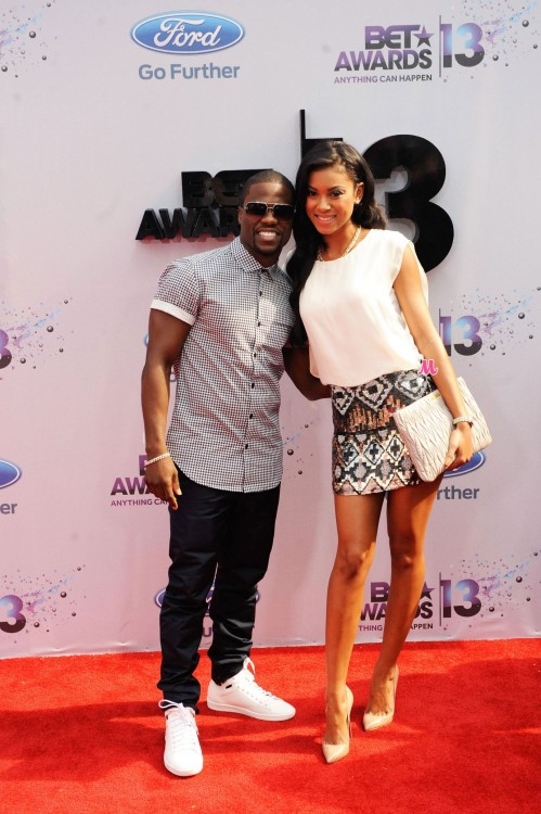 Kevin Hart And Girlfriend Bet Awards Kevin Hart