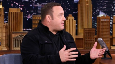 Kevin James Nearly Puked On His Kids During Kevin James