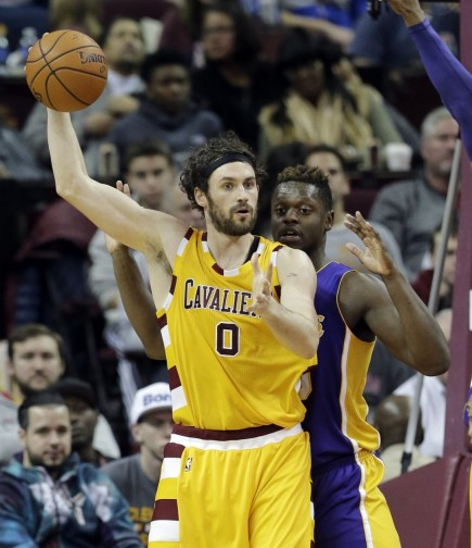 Lakers Cavaliers Basketball Kevin Love