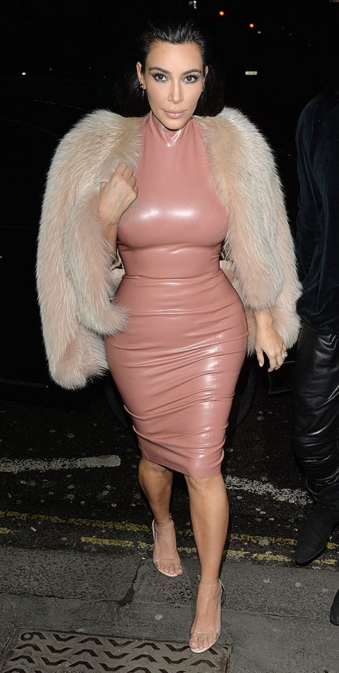 Kim Kardashian Style Out In London February
