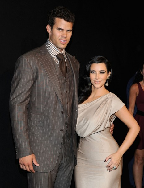 Nba Player Kris Humphries Tv Personality Kim Kardashian Tv
