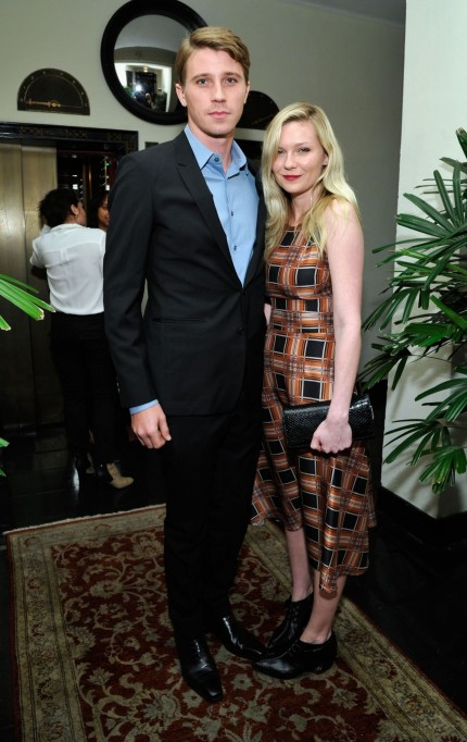 Kirsten Dunst Magazine Celebrates The Golden Globes In Los Angeles January