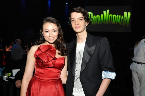 Jodelle Ferland And Kodi Smit Mcphee At Event Of Paranorman Large Picture Kodi Smit Mcphee Paranorman