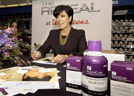 Kris Jenner Endorsement Deal Kris Jenner
