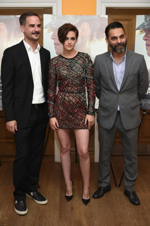 Kristen Stewart Peter Sattler And Peyman Moaadi At Event Of Camp Ray