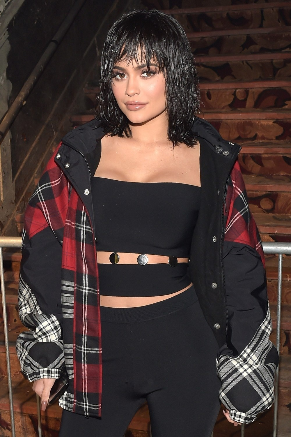 Kylie Jenner Alexander Wang Front Row Beauty Kylie Jenner