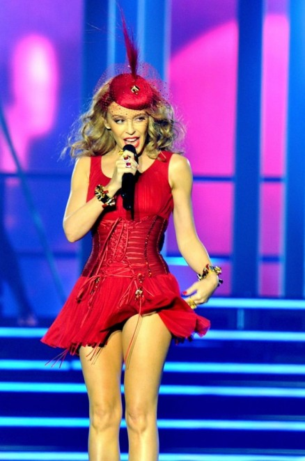 Kylie Minogue Performs At At The Echo Arena In Liverpool September Kylie Minogue