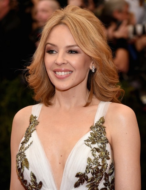 Kylie Minogue Regal Met Ball
