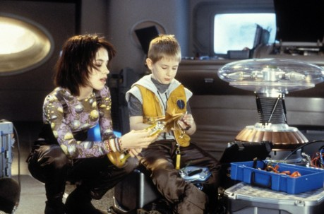 Still Of Lacey Chabert And Jack Johnson In Lost In Space Large Picture Lacey Chabert