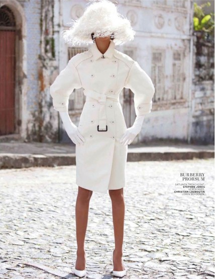 Lais Ribeiro By Michael Roberts For Lofficiel Netherlands February Lais Ribeiro