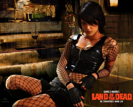 Asia Argento In Land Of The Dead Wallpaper Truck