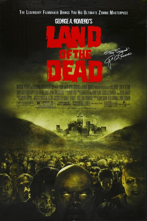 Land Of Dead Poster Asia Argento