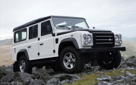 Land Rover Defender Fire Ice Editions Wide