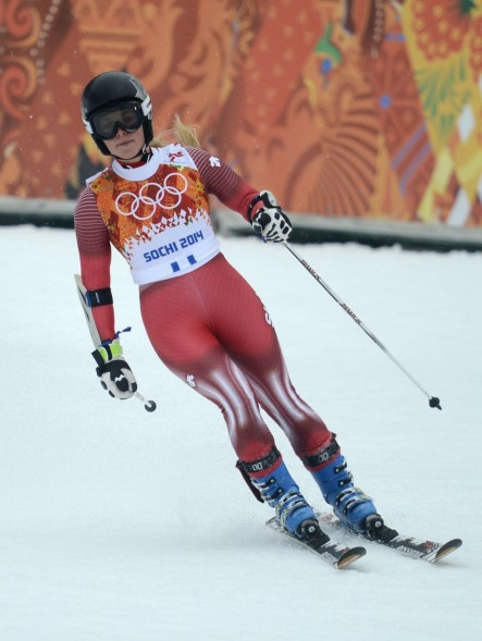 Lara Gut Sochi Winter Olympics Alpine Skiing Ladies Giant Slalom Lara Gut