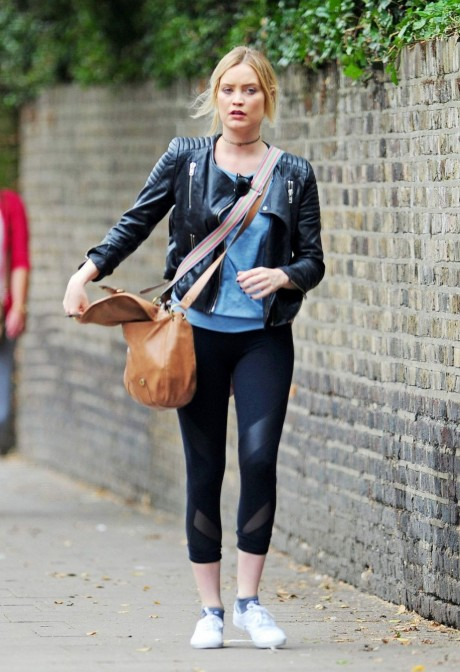Laura Whitmore Arrives At Strictly Come Dancing Rehersal In Londonn Laura Whitmore