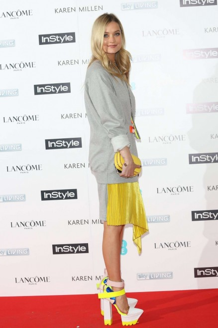 Laura Whitmore Instyle Pre Bafta Party Laura Whitmore