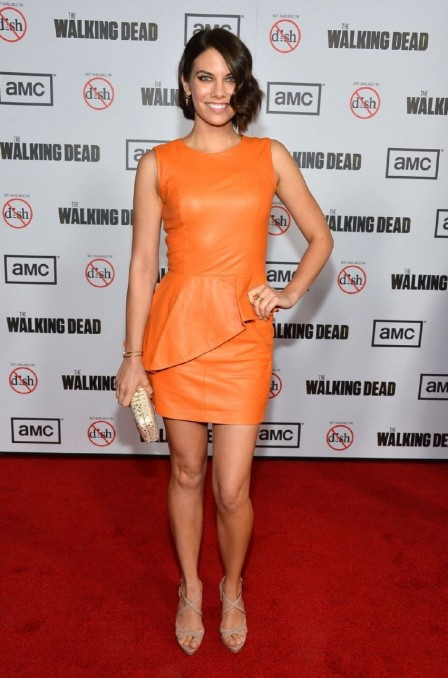 Lauren Cohan Aka Ampquotmaggieampquot From The Walking Deadgif Gif
