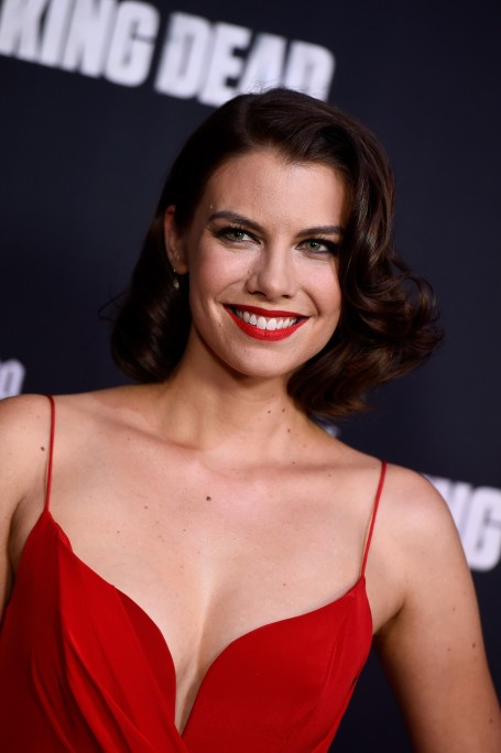 Lauren Cohan Season Premiere Of The Walking Dead In Universal City Lauren Cohan