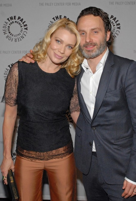 Laurie Holden And Andrew Lincoln In The Walking Dead Large Picture