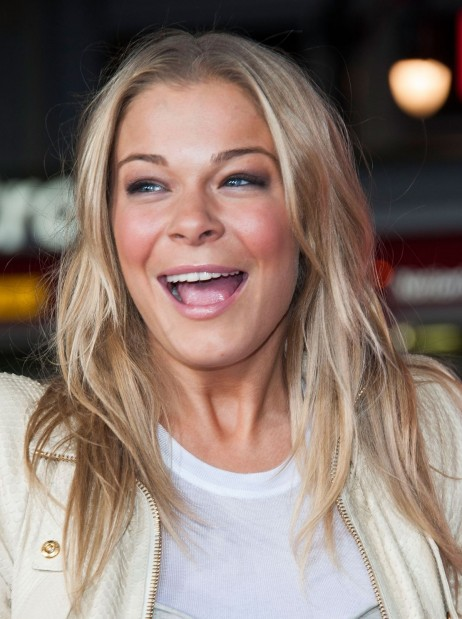 Leann Rimes At The Best Man Holiday Prmiere In Hollywood