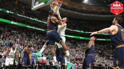 Lebron James Block Evan Turner Game Itok Pp Lebron James