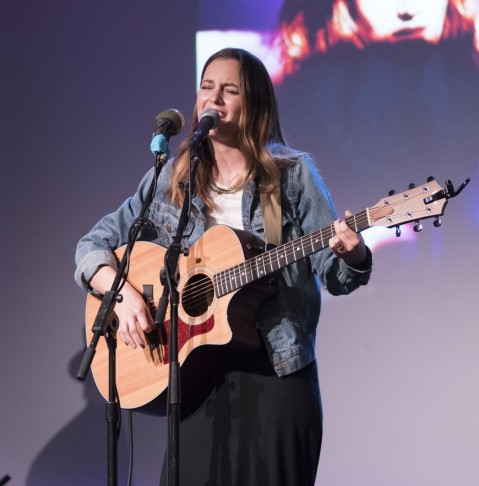 Leighton Meester Performs At Apple Store Soho Presents Meet The Musician In Nyc